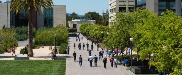 Discovery Walk on Stanford Medicine campus