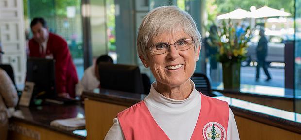 Stanford Hospital Volunteer