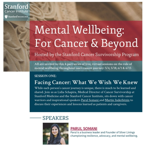 Mental Wellbeing: For Cancer & Beyond poster