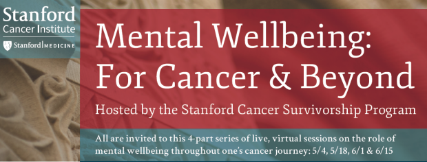 Mental Wellbeing for Cancer & Beyond poster