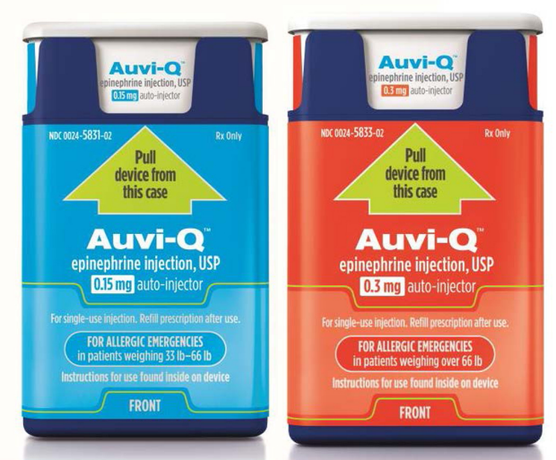 AuviQ Auto-injectors recalled