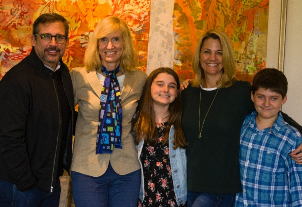 The Carell family of Los Angeles with Kari Nadeau, MD, PhD