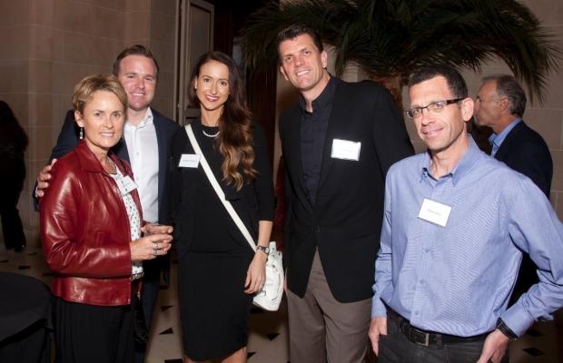 Anne Harrison, Brian and Casandra Panique, Eric Harrison and Dr. Arnon Elizur