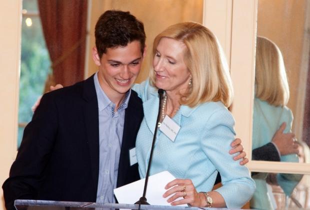 Matthew Friend and Dr. Kari Nadeau
