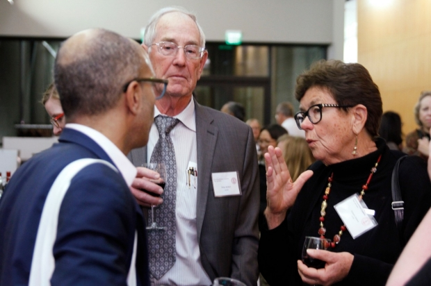 Bernard Thebaud, Phil Ballard, and Roberta Ballard