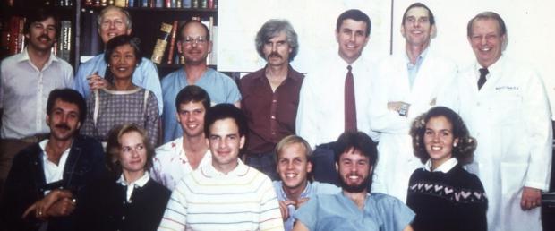 Anatomy crew in 1985