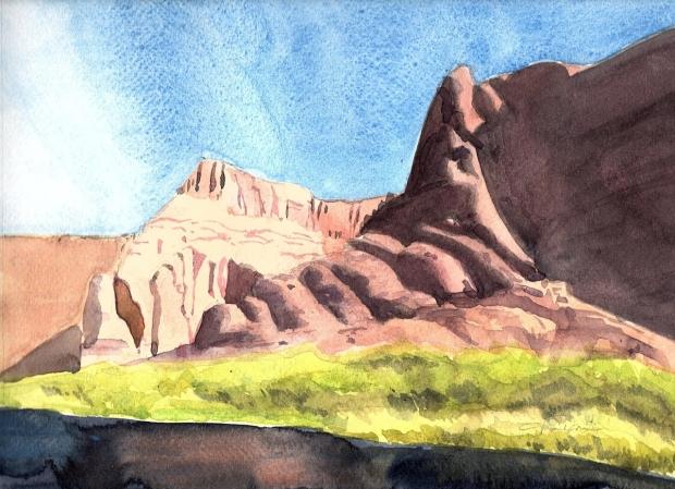Watercolor Southwestern