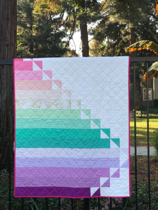 Unicorn Steep Rock Quilt, The Blanket Statement