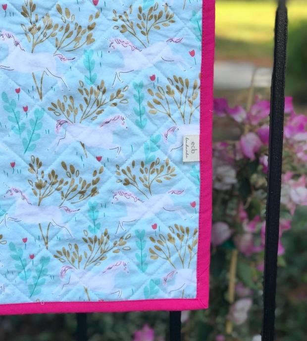 Unicorn Steep Rock Quilt, The Blanket Statement part 2