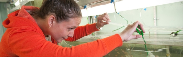 Student-with-fish-animal-research-education