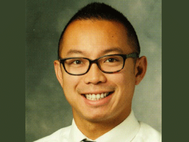 smiling headshot of Terrence Pong