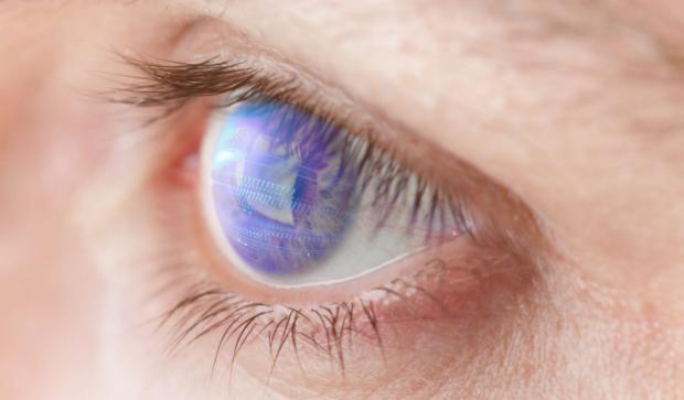 Photo of human eye