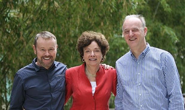 Helen Blau, Garry Nolan, Peter Jackson