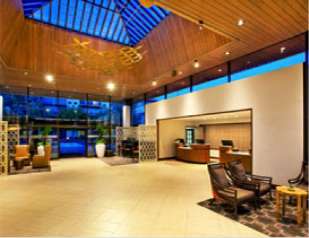 Sheraton Palo Alto lobby