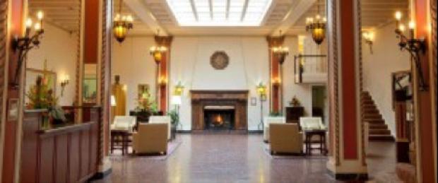 Cardinal hotel lobby
