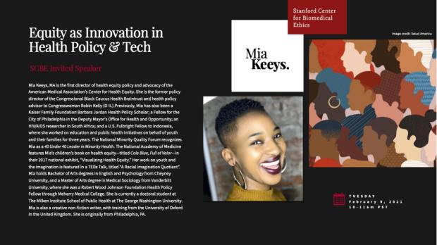 Mia Keeys SCBE Seminar Flyer