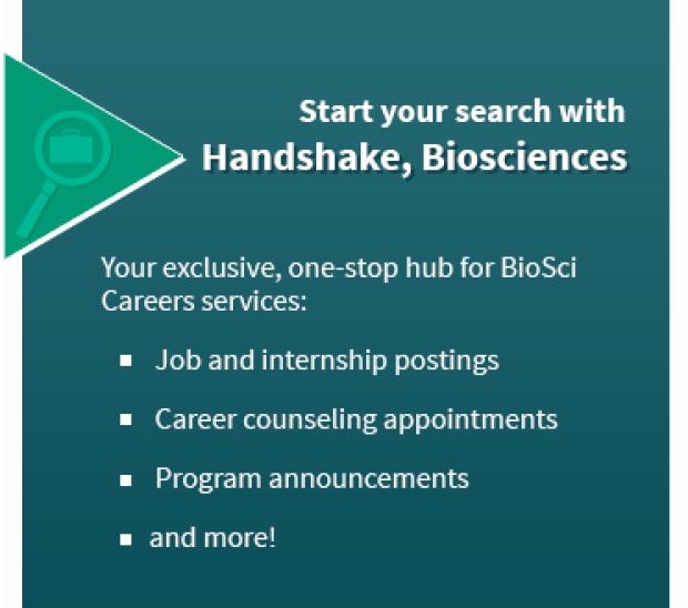 Handshake, Biosciences