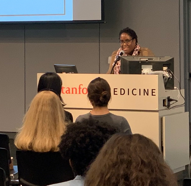 Latishya Steele at the 2019 Awesome Science Symposium
