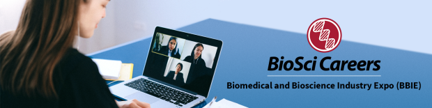 A job candidate video conferencing with job recruiters