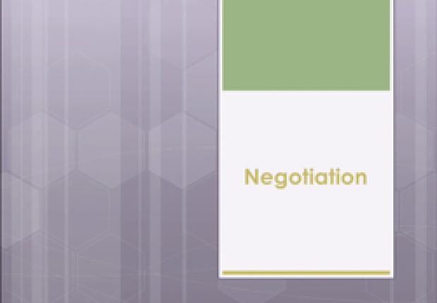 Transitions: Negotiation Workshop