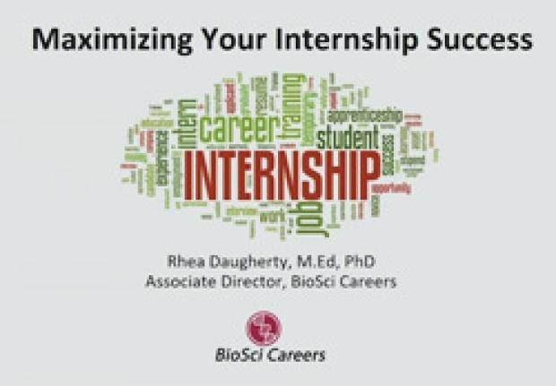 Transitions: Maximizing Your Internship Success