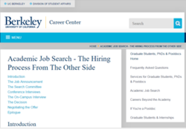 The Hiring Process from the Other Side