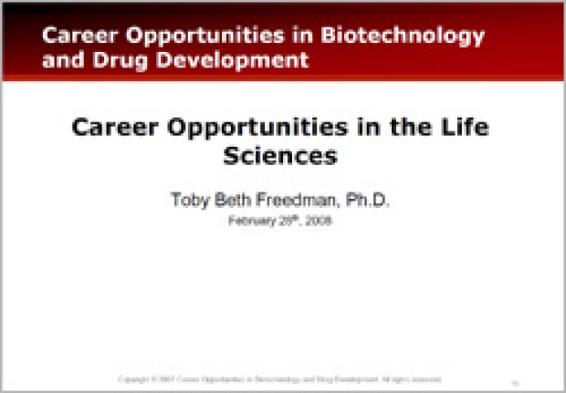 Exploring Career Considerations: Hidden Opportunities in Biotechnology and Drug Development