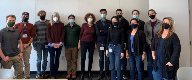 Web of Lab Member Connections