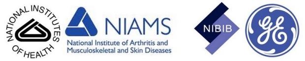 BMR Funding from NIH (NIBIB & NIAMS) and GE Healthcare