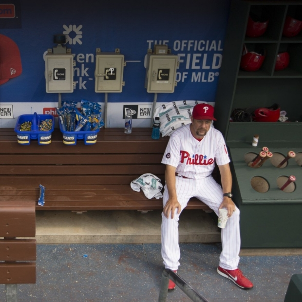 Baseball player on bench picture from NYTimes story