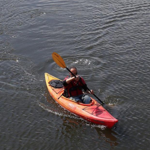 Kayaker image courtesy of CNN