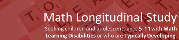 math longitudinal study banner