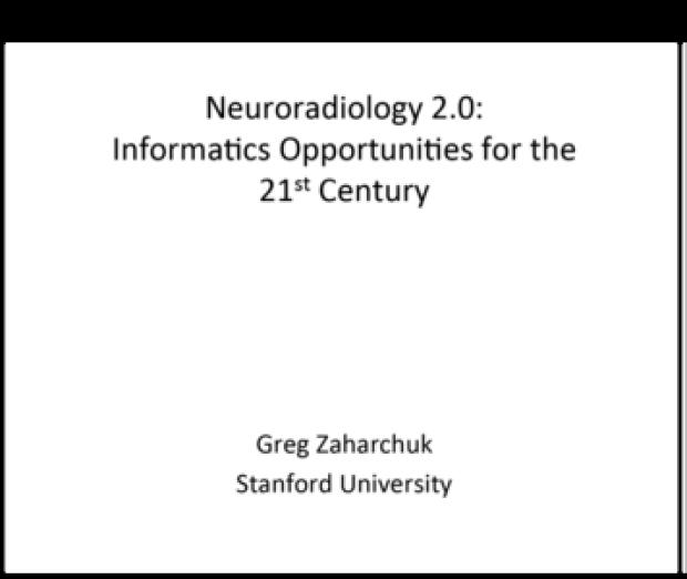 Neuroradiology 2.0
