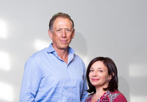 Vlad and Sandra Shmunis