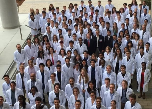 lab coat ceremony