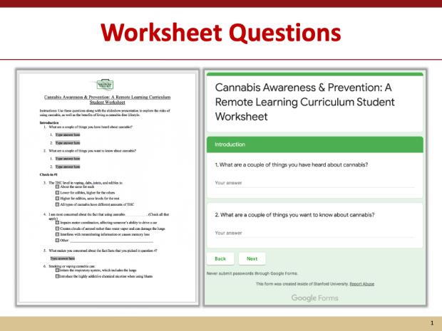 CRLC worksheet