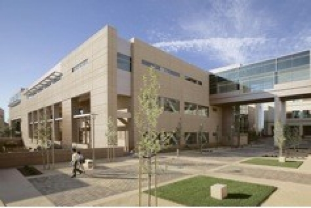 Photo of the Stanford Comprehensive Cancer Center