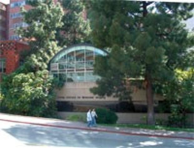 Photo of the Crump Institute for Molecular Imaging building