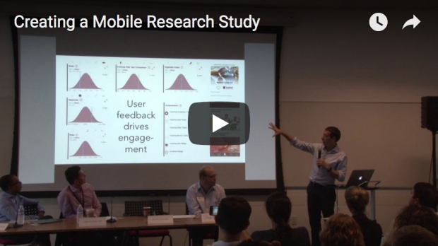 CDH Workshop how to create a mobile research study