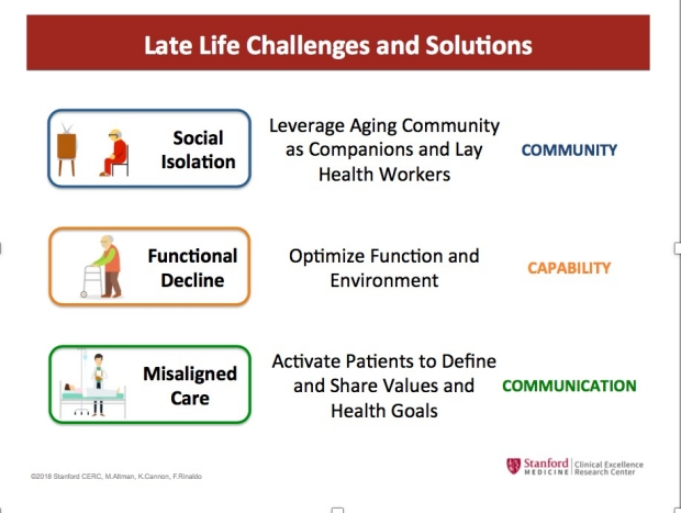 Late Life Challenges and Solutions