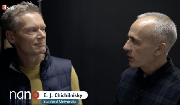 Screen capture of German-language video 3sat nano: Upload your brain (2018)