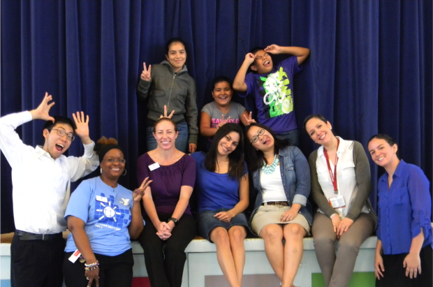Funny group pic from 2013 summer meal program