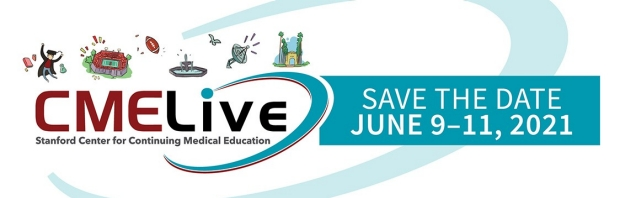 CME Live Save the Date, June 9-11, 2021