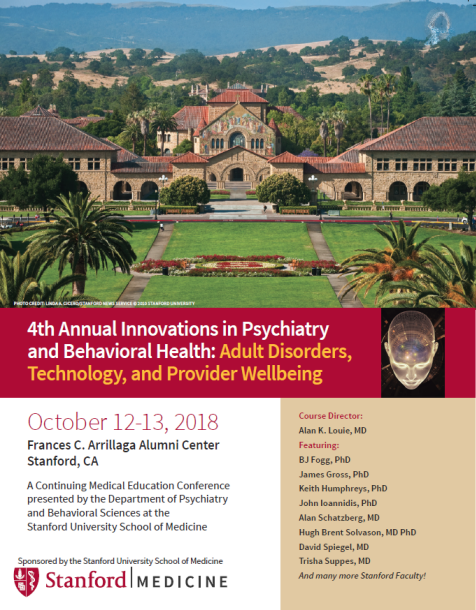 4th Annual Innovations in Psychiatry and Behavioral Health