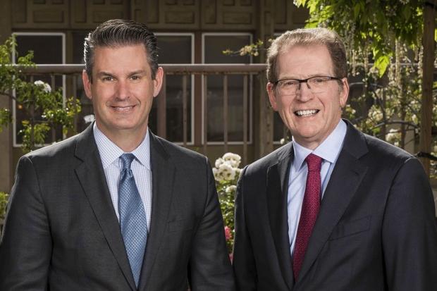 David Entwistle and Lloyd Minor