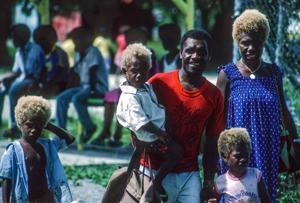 Children Of The Solomon Islands