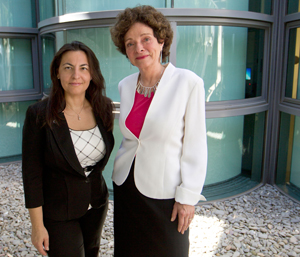 Foteini Mourkioti and Helen Blau author first-ever study to demonstrate a molecular basis for the cardiac defect that is the primary killer of people with Duchenne muscular dystrophy