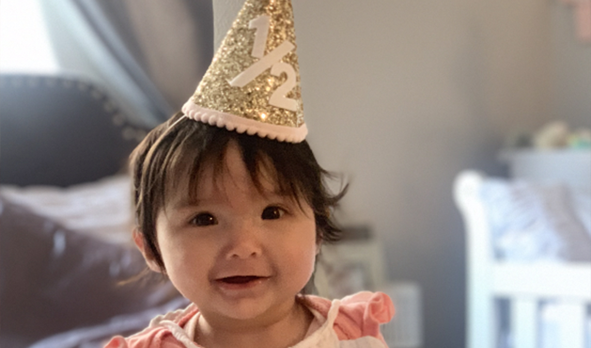 Newborn avoids jaw surgery with a retainer fitted at Stanford Medicine