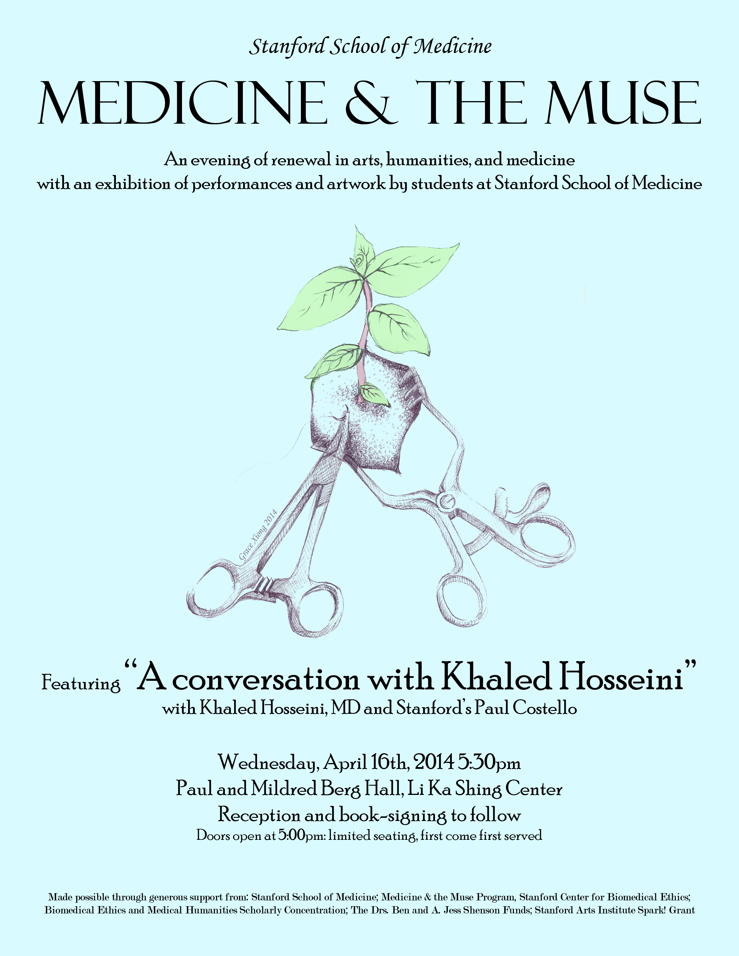 medicine and the muse an arts humanities and medicine symposium medicine and the muse an arts humanities and medicine symposium featured speaker khaled hosseini author of the kite runner a thousand splendid suns