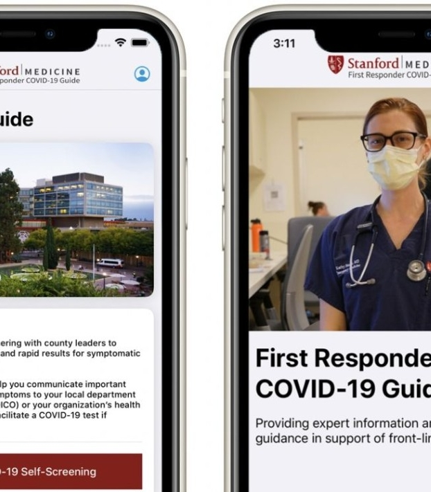 First Responder COVID-19 Guide app